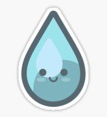 Cute Water Rain Drop Sticker