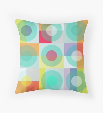 Noughts & Crosses Throw Pillow