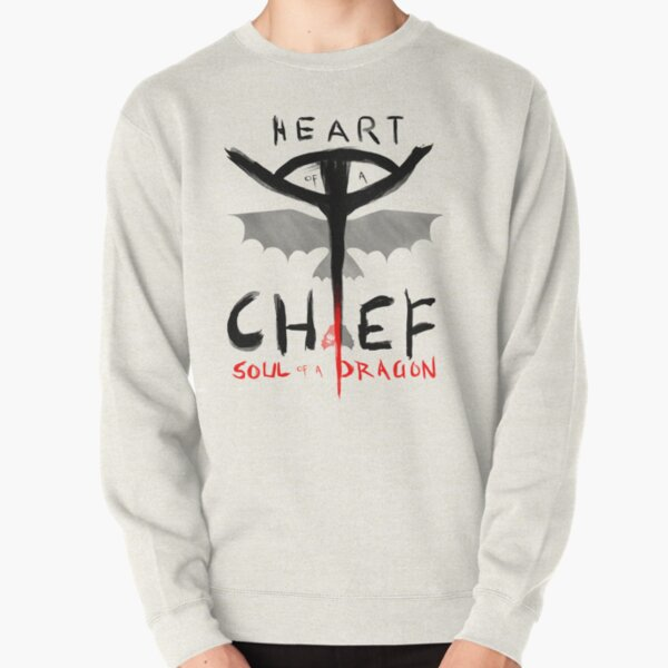 HEART of a CHIEF, SOUL of a DRAGON Pullover Sweatshirt
