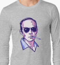 Hunter S. Thompson violet Long Sleeve T-Shirt