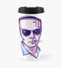 Hunter S. Thompson violet Travel Mug