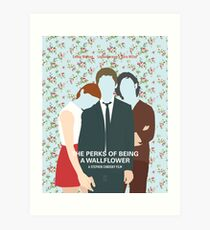 The Perks Of Being A Wallflower Art Print