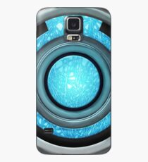 Heart Reactor - Blue Plasma  Case/Skin for Samsung Galaxy