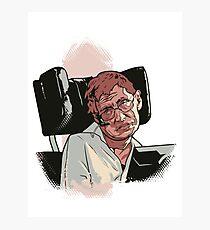 Stephen Hawking Photographic Print