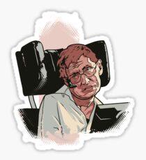 Stephen Hawking Sticker