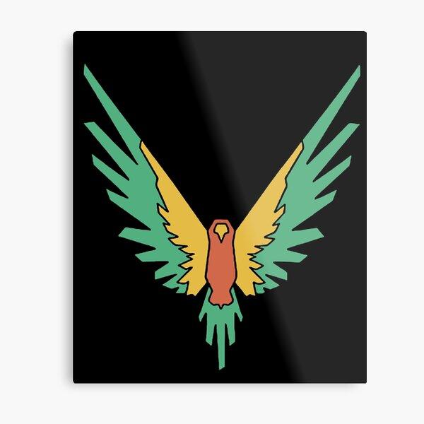 Logan Paul Maverick Logo Kids Metal Print