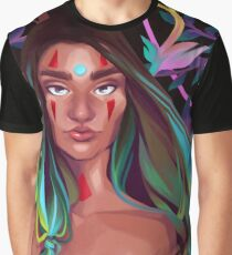Naked Leaves Graphic T-Shirt