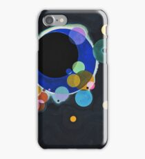 Wassily Kandinsky - Several Circles 1926  iPhone Case/Skin