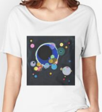 Wassily Kandinsky - Several Circles 1926  Women's Relaxed Fit T-Shirt
