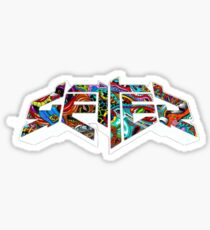 Getter psychedelic  Sticker