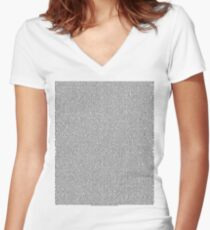 Bee Movie Script (Updated: Check Description For Details) Fitted V-Neck T-Shirt