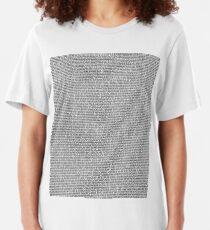 Bee Movie Script (Updated: Check Description For Details) Slim Fit T-Shirt