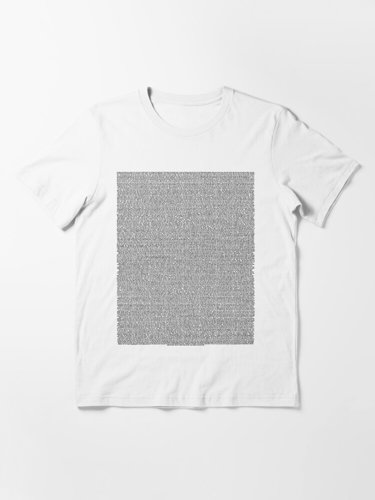 Alternate view of Bee Movie Script (Updated: Check Description For Details) Essential T-Shirt