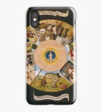 Hieronymus Bosch - The Seven Deadly Sins And The Four Last Things 1485 iPhone Case/Skin