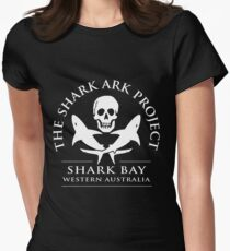 SHARK ARK SHARK BAY COLLECTION Women's Fitted T-Shirt