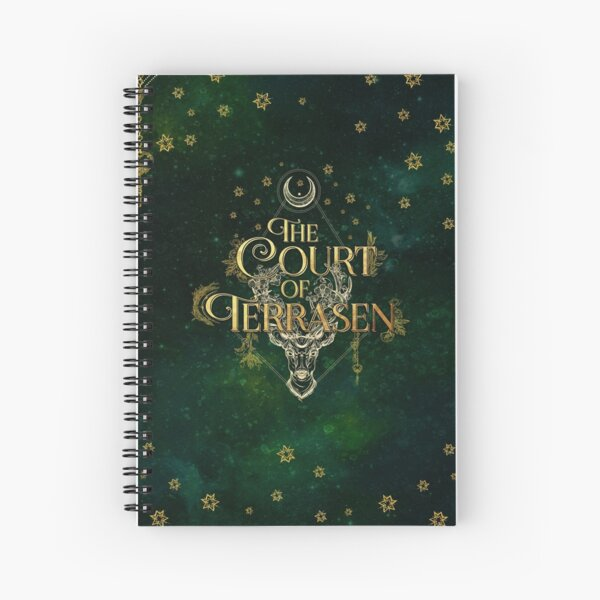 The Court of Terrasen Spiral Notebook
