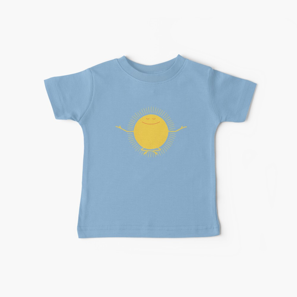 Adorador del sol Camiseta para bebés