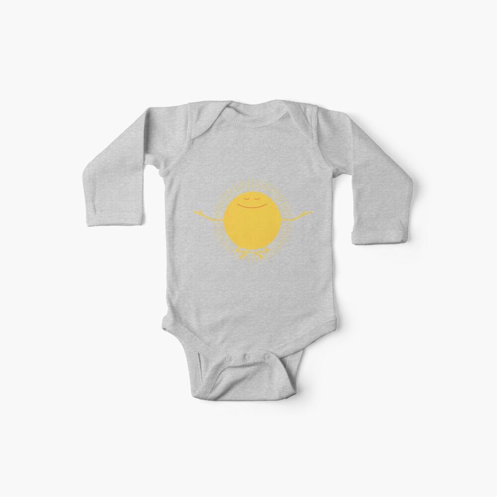 Adorador del sol Body para bebé