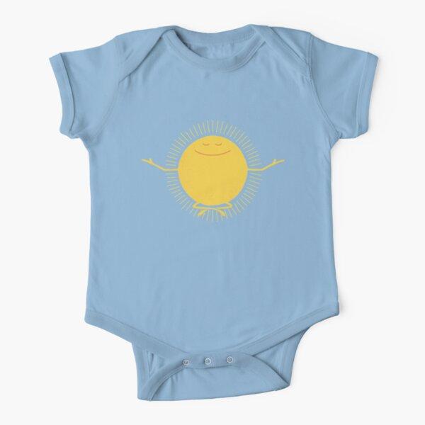 Sun Worshipper Short Sleeve Baby One-Piece