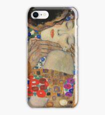 Gustav Klimt - The Kiss, 1907-08 Detal 4 iPhone Case/Skin