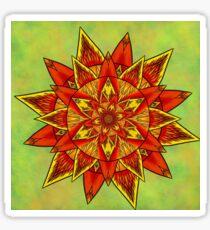 Mandala Full Of Energy Sticker