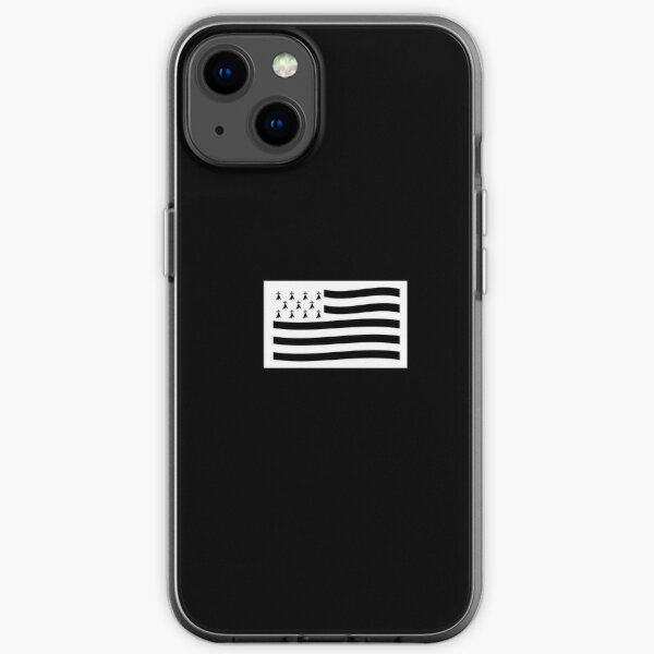 Drapeau Breton Coque souple iPhone