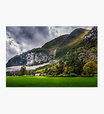 In the valley Photographic Print