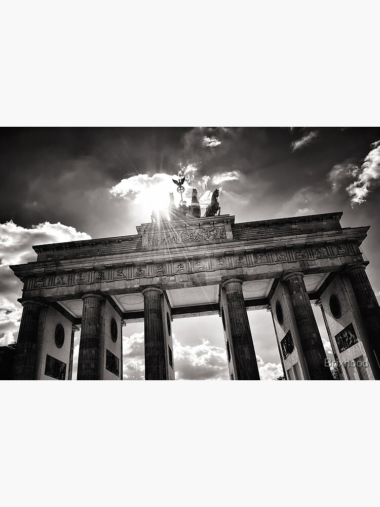 Brandenburg Gate (Brandenburg Gate) - Berlin Germany by Brixhood