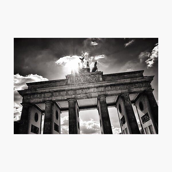 Brandenburg Gate (Brandenburg Gate) - Berlin Germany Photographic Print