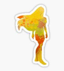 Princess Inspired Silhouette Sticker