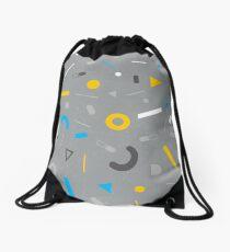 Almost Friday - Grey Drawstring Bag