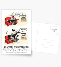 Greyhound Glossary: Words of Greyt Power Postcards