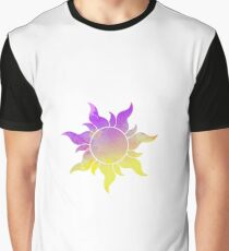Tangled Sun inspired silhouette Graphic T-Shirt