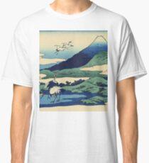 Hokusai Katsushika - Umezawa in Sagami Province Classic T-Shirt