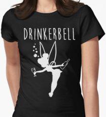 Drinker Bell Women's Fitted T-Shirt