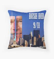 Bush Did 9/11 Throw Pillow