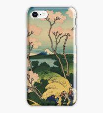 Hokusai Katsushika - Goten-yama-hill, Shinagawa on the Tokaido iPhone Case/Skin