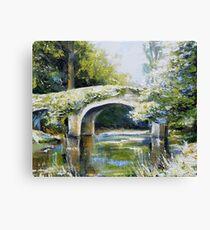 Derrybawn bridge Canvas Print