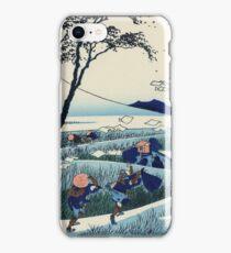 Hokusai Katsushika - Ejiri in Suruga Province iPhone Case/Skin