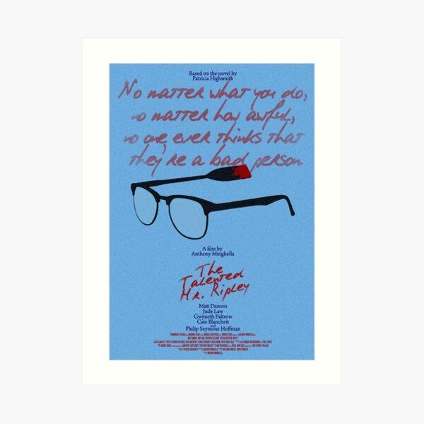 The Talented Mr Ripley Art Print