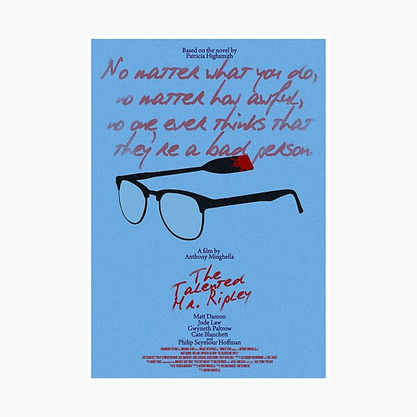 The Talented Mr Ripley Photographic Print