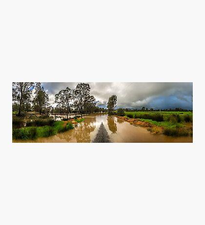 Flooding Photographic Print