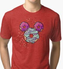 Pop Donut -  Berry Frosting Tri-blend T-Shirt
