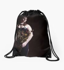 JessieMac and Roses Drawstring Bag