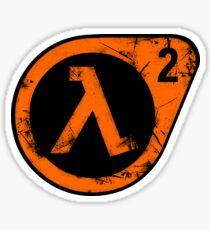 HL2 Orange Sticker