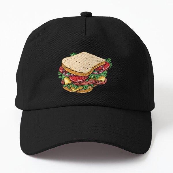 Ham and Cheese Sandwich Dad Hat