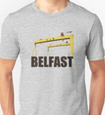Belfast, Northern Ireland - Harland and Wolff shipyard Unisex T-Shirt