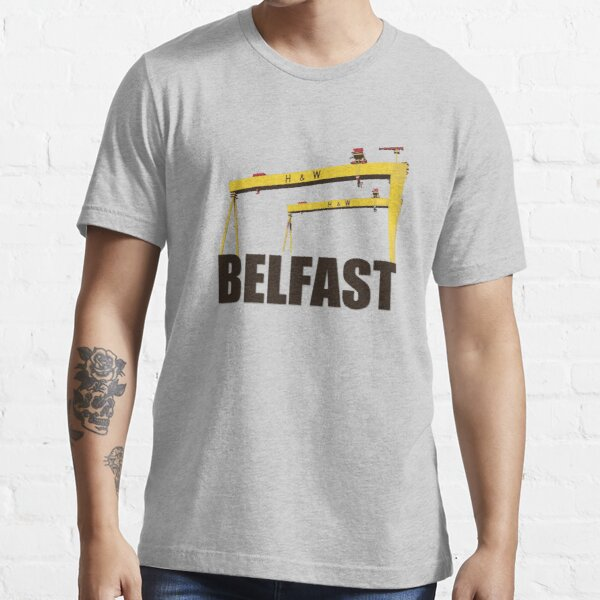 Belfast, Northern Ireland - Harland and Wolff shipyard Essential T-Shirt
