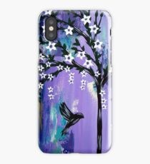 Purple Tree of Life iPhone Case