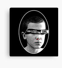 God save the girl Canvas Print